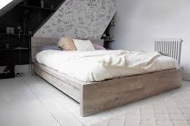 Ikea Hack Bed Platform Bed Frame Spring Storage Es Queen Rustic Look For A U Spring