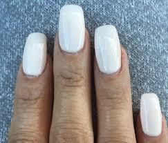 40 acrylic nails zoom in looks like i need a fill already