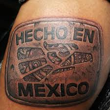 mexican pride tattoos pictures to pin on pinterest tattooskid