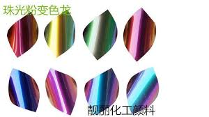 chameleon pigment color changing pigment color change at