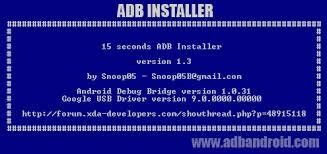 android adb adb installer 1 4 2 for adb fastboot and adb drivers