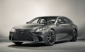 lexus sedan 2018 lexus ls and ls500 photos and info u2013 news u2013 car and driver