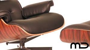 lounge chair and ottoman eames reproduction black anniversary