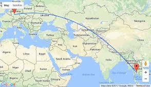 Map Of Frankfurt Germany by One Way Flights From Bangkok To Frankfurt Germany From U20ac225 242