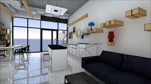 50m2 house wizualizacja salonu wyposażenia wnętrz youtube