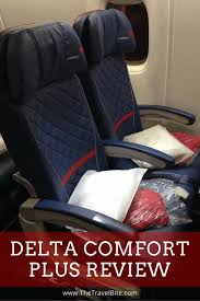 Where A Thousand Miles From Comfort Delta Comfort Plus Review The Travel Bite