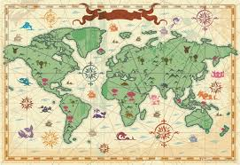 World Map Fabric by Custom Large Murals Fabric Wallpaper 3d Wall Paper Sitting Room