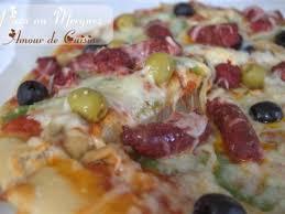 amour de cuisine pizza les meilleures recettes de pizza et olive