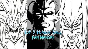dragon ball fan manga top 5 dragon ball fan manga youtube