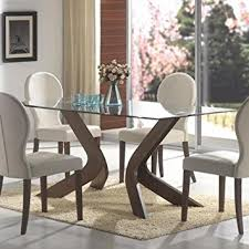 Glass Topped Dining Room Tables Of Worthy Dining Table Excellent - Round glass top dining room table