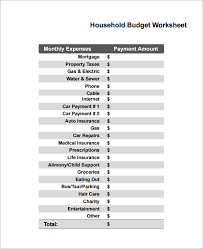 collections of home budget worksheet printable bridal catalog