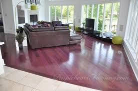 purple flooring on floor throughout purpleheart flooring 4