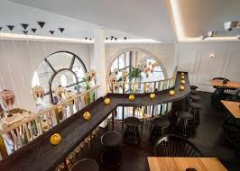 Restaurant Interior Design by Tom Dixon Transforms Regency Building Into Bronte Restaurant