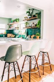 kitchen decorating contemporary kitchen colours light green