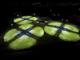 softball field lighting cost eaton s ephesus led sports lighting retrofit solution installed at