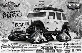 jeep arctic chris kyle frog foundation jeep unveiled at sema 2016 the drive