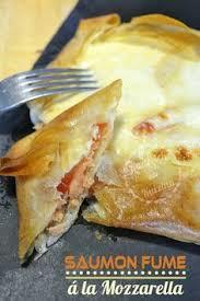 cuisine rapide pour le soir dégustation brick au saumon fumé en tarte carrée recette de