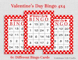 valentines bingo bingo 60 printable s bingo