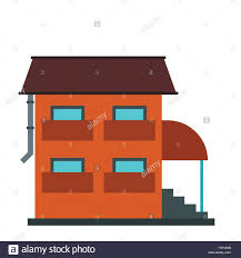 two storey house two storey house with porch icon stock vector art u0026 illustration