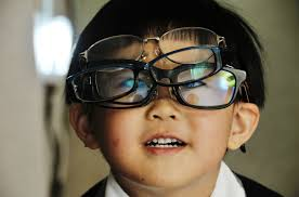 why do so many humans need glasses psychology today