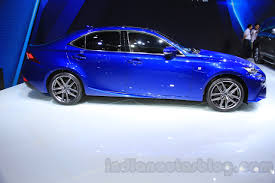 2016 lexus is 200t side at the 2015 chengdu motor show indian