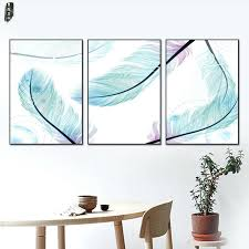 wall ideas feather wall art panels target feather wall art set