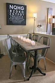 Restoration Hardware Drafting Table Jen Widner Lifestyle Blog Our Dining Table