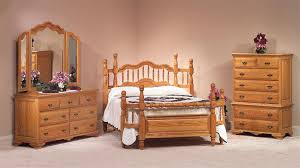 Handcrafted Wood Bedroom Furniture - oak wrap around bedroom set from dutchcrafters amish furniture