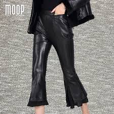 Real Leather Leggings Compare Prices On Real Leather Trouser Online Shopping Buy Low