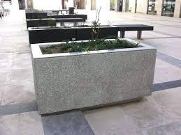 large concrete planter large concrete planter molds openpoll me within boxes decor 15