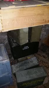 a man found guns and money in a hidden basement room