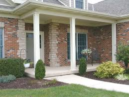 front porch awesome front porch design using white and grey stone