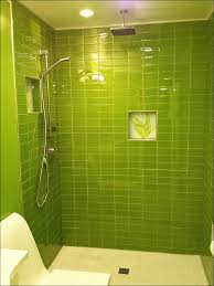 kitchen bright green glass subway tile in lemongrass modwalls