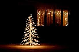 white outdoor lighted christmas trees 30 outdoor christmas decoration ideas regarding lighted tree