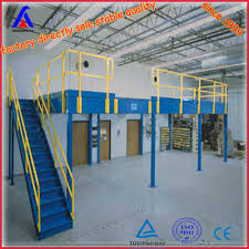 steel structure platform mezzanine floor for site office using