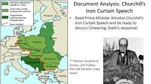 Iron Curtain Speech What Did The Iron Curtain Refer To Memsaheb Net