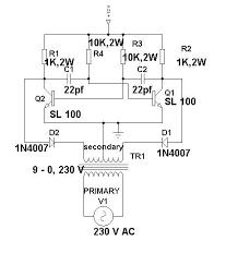 wiring schematic diagram 12 volt to 230 volt inverter using
