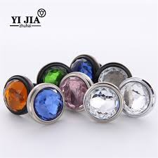 colored glass cabinet knobs colored glass cabinet knobs and pulls yijia crystal