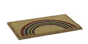 zerbino di cocco catral 71070049 zerbino di cocco rainbow 70 x 40 cm colore