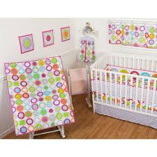 Nursery In A Bag Crib Bedding Set Sumersault Circle Dots 9 Nursery In A Bag Crib Bedding Set