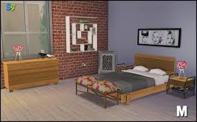Boston Bedroom By MangoSims Teh Sims - Boston bedroom