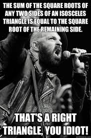 Scalene Triangle Meme - are you going to the pit later ok see you in the pit bearded