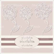 Wedding Invitations Cards Design Abstract Background Decorative Graphic Flowers Wedding Invitation
