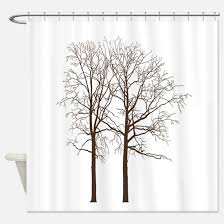 Shower Curtain With Tree Design Tree Shower Curtains Cafepress