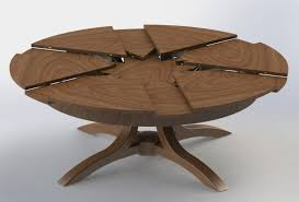 Wooden Octagon Dining Table Round Wood Dinette Custom Expandable - Octagon kitchen table