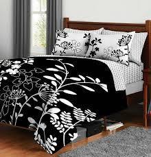 Black Floral Bedding Black And White Floral Bedding For Lovely Look Inside Your Bedroom