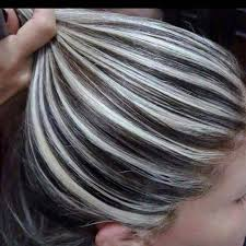 coloring gray hair with highlights hair highlights for coloring gray hair with highlights best off the shelf hair color