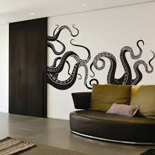 amazon com vinyl kraken wall decal octopus tentacles wall sticker
