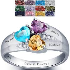 make mothers rings images The best birthstone rings for mom will make you tons of love jpg