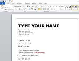 resumes in word create a resume in word how to make 5 microsoft with 3
